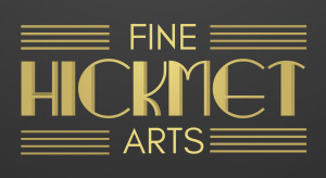 Hickmet Fine Arts ecommerce branding logo
