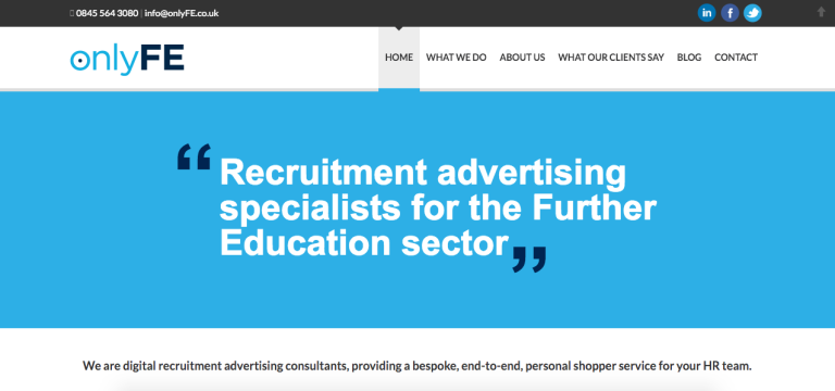 recruitment consultancy marketing case study